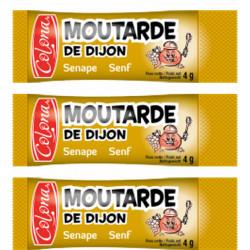 MOUTARDE DE DIJON STICKETS 4GR X 1000 U LE CARTON