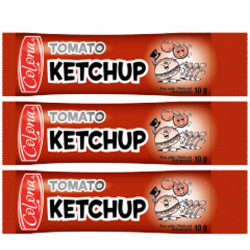 KETCHUP STICKETS 10GR X 500 U. LE CT. 35% TOMATE
