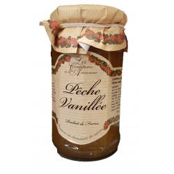 CONFITURE DE PECHE VANILLEE POT 270GR